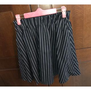 ローリーズファーム(LOWRYS FARM)のストライプ柄 スカート(ミニスカート)