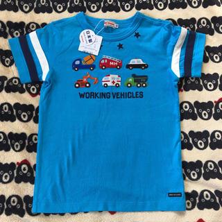 ミキハウス(mikihouse)の専用 新品♡ミキハウス はたらく車 Tシャツ 120(Tシャツ/カットソー)