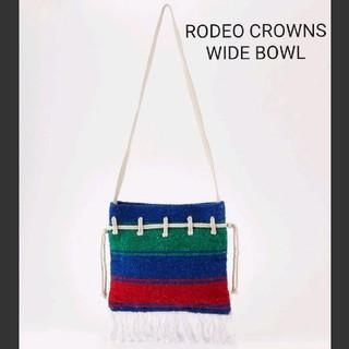ロデオクラウンズワイドボウル(RODEO CROWNS WIDE BOWL)の★RODEO CROWNS WIDE BOWL メキシカン 巾着 ショルダー(ショルダーバッグ)