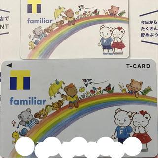 ファミリア(familiar)のTカード ファミリアデザイン(ノベルティグッズ)