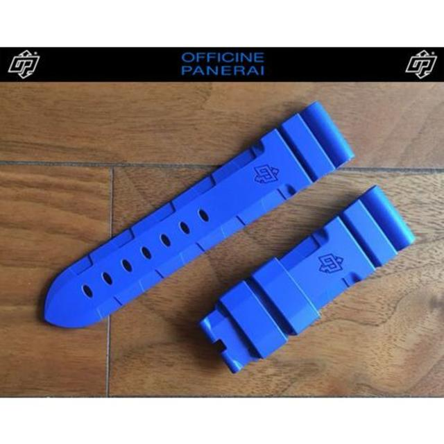 PANERAI - PANERAI パネライ 22mm 尾錠用 ラバー ストラップ ベルト バンド の通販 by Ggyysongyy|パネライならラクマ
