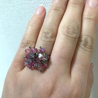 オーロラピーズのリング フリーサイズ(リング(指輪))
