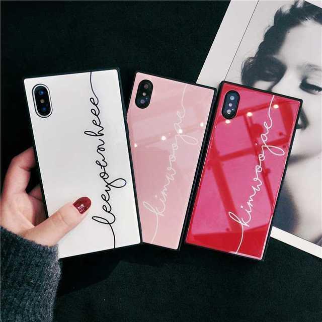 ミラー スクエア  インスタ  iPhone7/8/plus/X  ケースの通販 by ぴょんぴょん's shop|ラクマ