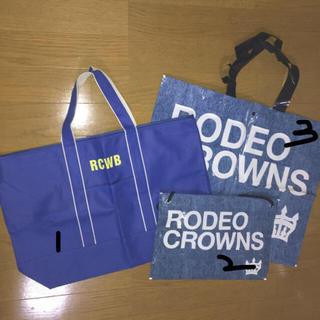 ロデオクラウンズワイドボウル(RODEO CROWNS WIDE BOWL)のショッパー 袋 ロデオクラウンズ(ショップ袋)
