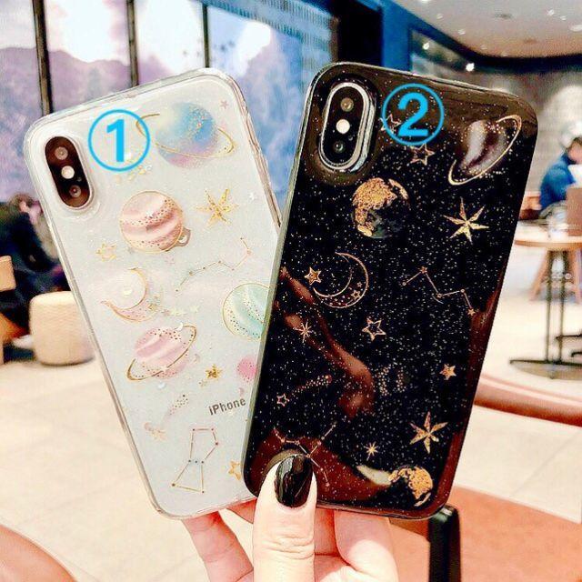 iphone8 iphone6s ケース / 星空デザイン iPhoneケース 6/7/8/Plus/X/XR/Max カバーの通販 by JJ@iPhoneケース|ラクマ