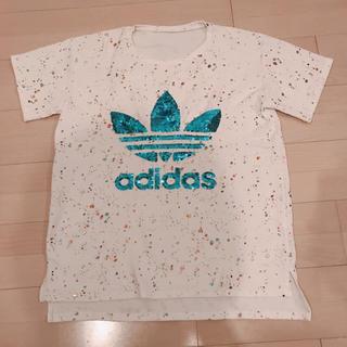 アディダス(adidas)の【超美品】adidas Tシャツ(Tシャツ/カットソー(半袖/袖なし))