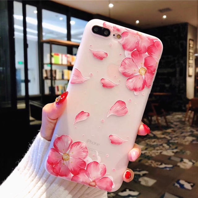 iPhone X / XR ケース 花柄 新品の通販 by りりか's shop|ラクマ
