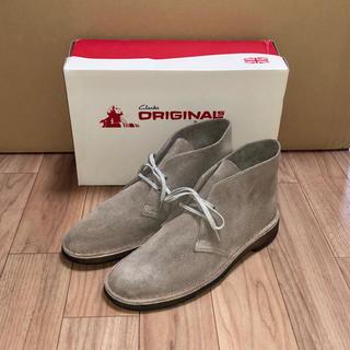 クラークス(Clarks)のClarks スエード デザートブーツ GB8 US8.5 26.5cm サンド(ブーツ)