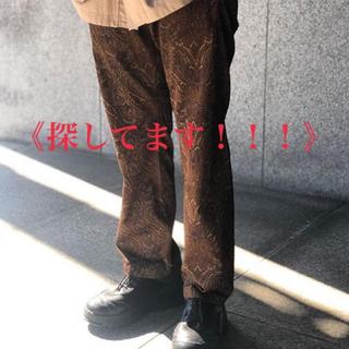 コモリ(COMOLI)のURU easy pants 19ss(スラックス)