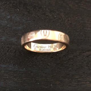 カルティエ(Cartier)のカルティエ Cモチーフコレクション ハッピーバースデーリング ピンクゴールド(リング(指輪))
