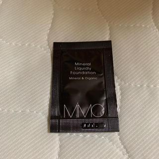 エムアイエムシー(MiMC)のmimc  ファンデーション サンプル(ファンデーション)