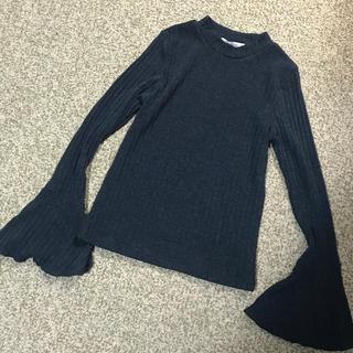 ナノユニバース(nano・universe)の未使用ナノユニバース袖裾拡がり可愛いトップス(カットソー(長袖/七分))