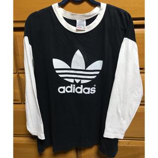 アディダス(adidas)のadidas アディダスオリジナルス 90s ロンT(Tシャツ/カットソー(七分/長袖))