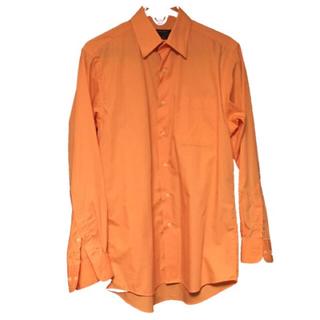 ジョンローレンスサリバン(JOHN LAWRENCE SULLIVAN)のサレン オレンジシャツ(シャツ)