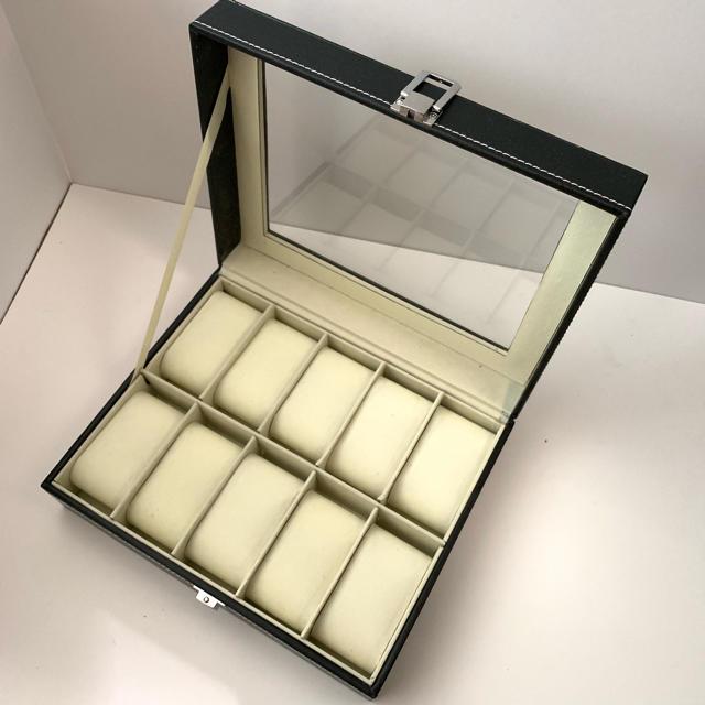時計 偽物 格安ヴィラ | 腕時計収納ケース 腕時計収納ボックス 10本収納 高級腕時計 大容量の通販 by tarohouse's shop|ラクマ