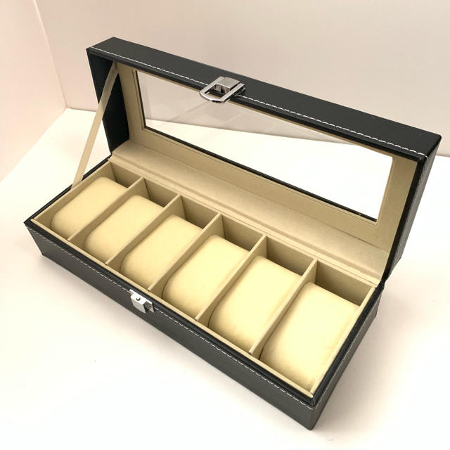 腕時計収納ケース 黒 高級感 高級腕時計 腕時計収納ボックス 6本用の通販 by tarohouse's shop|ラクマ