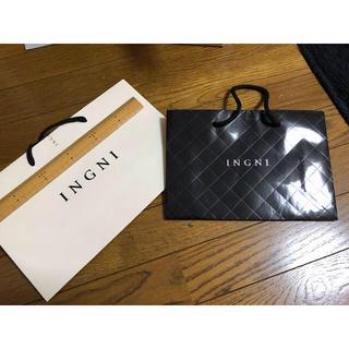 イング(INGNI)のイング ショップ袋 二枚セット(ショップ袋)