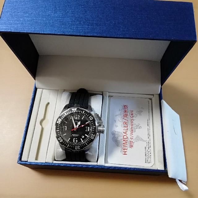 SEIKO - heimdallr  ダイバーズウォッチ 自動巻腕時計 セイコーハミルトン好きにの通販 by たぴおか's shop|セイコーならラクマ