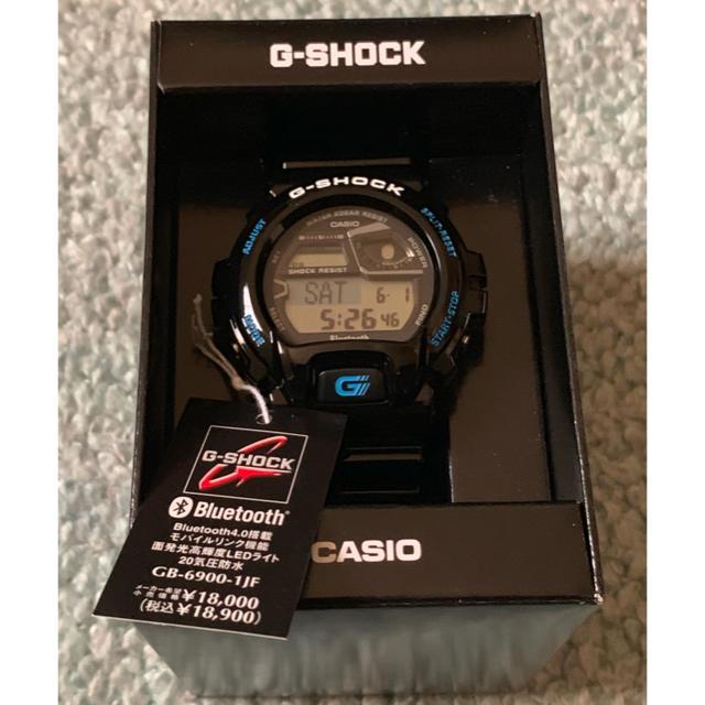日本 ロレックス - G-SHOCK - CASIO カシオ G-SHOCK GB-6900-1JF 新品未使用の通販 by メアリー's shop|ジーショックならラクマ