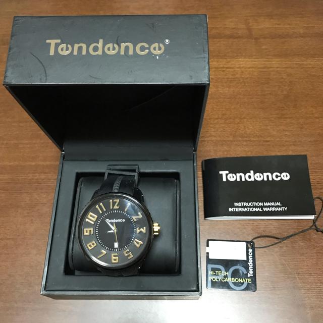 Tendence メンズ腕時計 ガリバーラウンドの通販 by ふわりんか shop♪|ラクマ