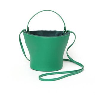 ドゥロワー(Drawer)の【完売】ayako Pottery Bag グリーン レア(ショルダーバッグ)