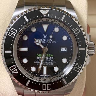 ロレックス(ROLEX)のロレックス ディープシー ( Dブルー )  美品 116660(腕時計(アナログ))
