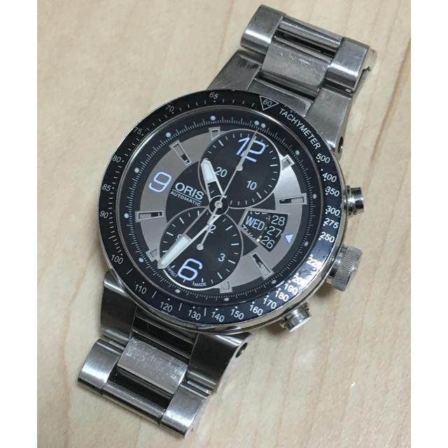 ORIS - オリス ORIS 腕時計 7614 ウィリアムズ メンズ クロノグラフ×裏スケの通販 by カツカレー's shop|オリスならラクマ