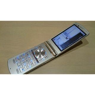 エヌティティドコモ(NTTdocomo)のN-02C docomo フィーチャーフォン(携帯電話本体)