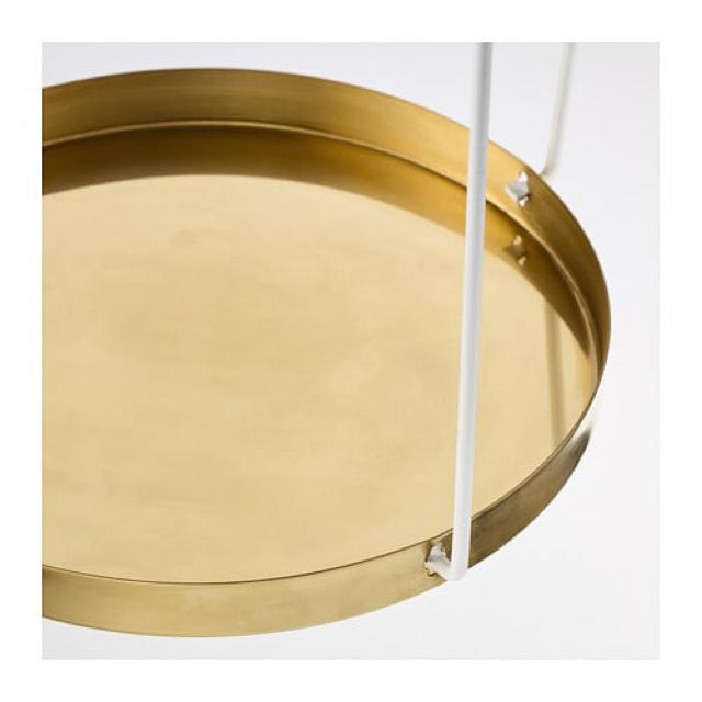 IKEA(イケア)の【新品・未開封】IKEA VINTER 2018 植物ハンガー ゴールド エンタメ/ホビーのエンタメ その他(その他)の商品写真