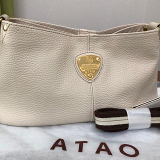 fab710f793da アタオ(ATAO)のATAO チヴィ アイビス ホワイト☆超美品です。☆