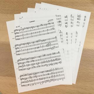 LEMON ピアノ連弾(ポピュラー)
