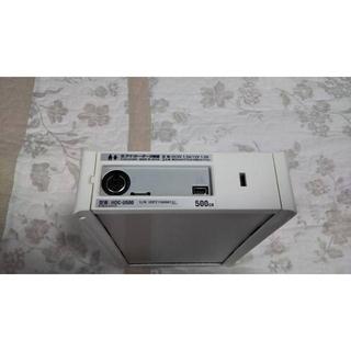 アイオーデータ(IODATA)のREGZA録画対応 USB外付けHDD HDC-U500(アイ・オー・データー)(テレビ)