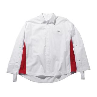 メゾンキツネ(MAISON KITSUNE')のader error 19ss white シャツ(シャツ)