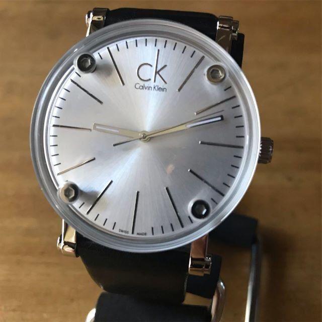 高級な 時計 - Calvin Klein - 【新品】カルバンクライン CK クオーツ メンズ 腕時計 K3B2T1C6の通販 by 遊☆時間's shop|カルバンクラインならラクマ