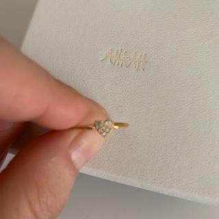 アーカー(AHKAH)のAHKAH ピンキーリング 5号 アーカー(リング(指輪))