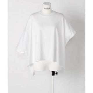 エンフォルド(ENFOLD)の【最終値下げ】ENFOLD スビン天竺1ワイドTOP(Tシャツ(半袖/袖なし))