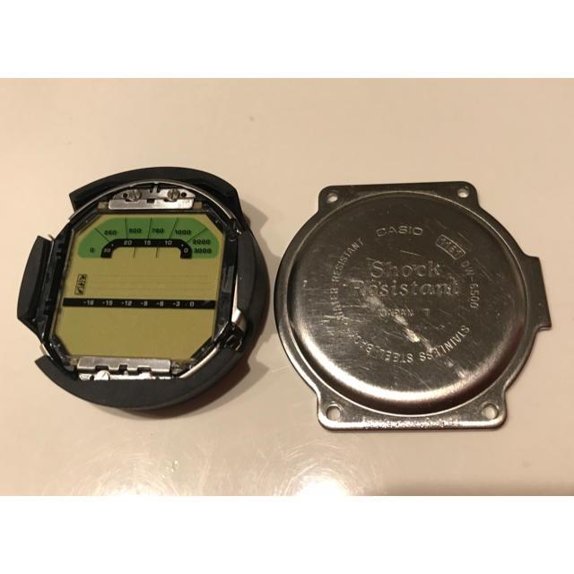 pam00127 、 G-SHOCK - g-shock  DW-6500 スカイフォース 液晶 裏蓋の通販 by しん's shop|ジーショックならラクマ