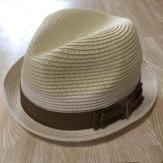 ディーゼル(DIESEL)のDIESEL ハット 麦わら帽子 56㎝(麦わら帽子/ストローハット)