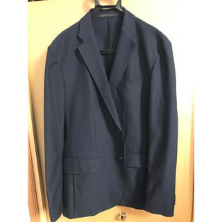 ユニクロ(UNIQLO)の紺ジャケット(UNIQLO)サイズ:XL(テーラードジャケット)