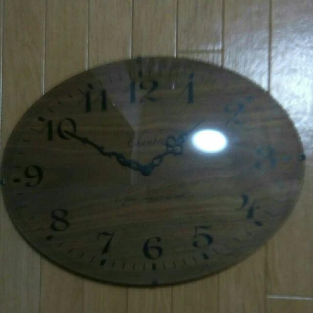 シャンブルChambre 壁掛け時計 日本製 動きませんの通販 by shop|ラクマ