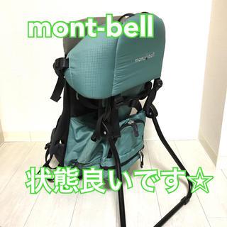 モンベル(mont bell)のモンベル ベビーキャリア mont-bell 背負子 状態良し☆(抱っこひも/おんぶひも)