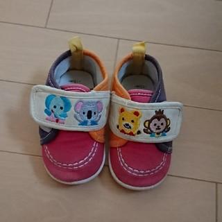 ニシマツヤ(西松屋)の西松屋 アニマル 靴 12センチ(スニーカー)