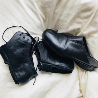 マルタンマルジェラ(Maison Martin Margiela)のmargiela shoes マルジェラ  スリッポン 2way(ブーツ)
