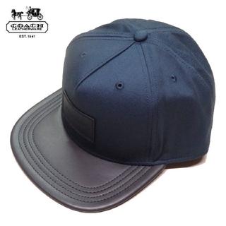コーチ(COACH)の【COACH★F86475】コーチ キャップ帽子 新品タグ付き(キャップ)