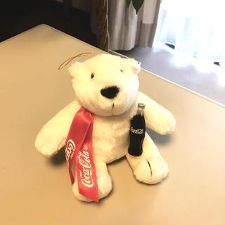コカコーラ(コカ・コーラ)のコカ・コーラ ポーラーベア  高さ15cm(ぬいぐるみ)