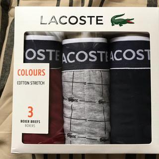 ラコステ(LACOSTE)のラコステ  ボクサーパンツ Mサイズ 新品(ボクサーパンツ)