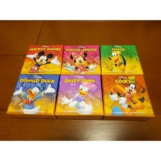 ディズニー(Disney)の【6枚セット】ミッキー&フレンズ プルーフ  台座セット 純銀・ニウエ(貨幣)