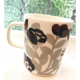 マリメッコ(marimekko)のGREEN GREEN 250mlマグカップ(グラス/カップ)