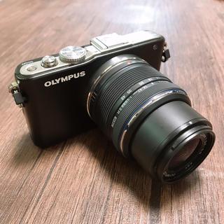 オリンパス(OLYMPUS)の★olympus pen e-pl3 レンズキット ※レンズ難あり(ミラーレス一眼)