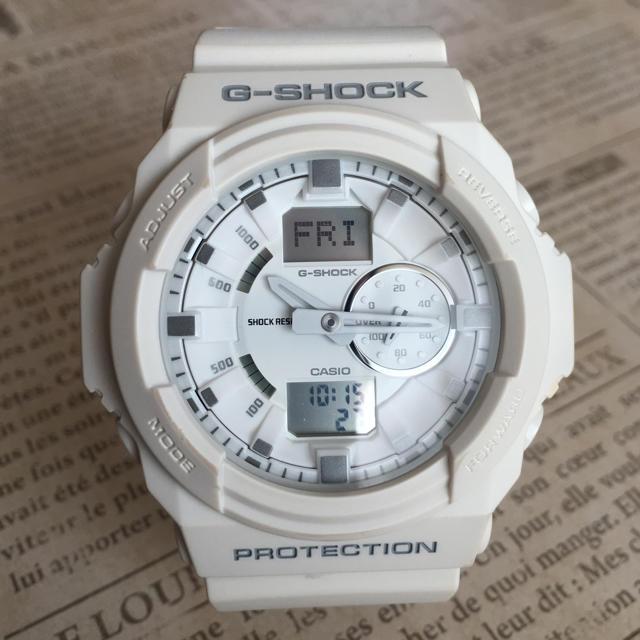 G-SHOCK - G-SHOCK ホワイトの通販 by kieeee's shop|ジーショックならラクマ